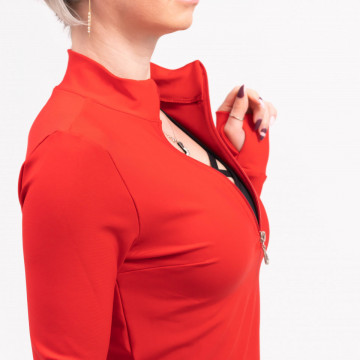 Bluza, Sport, Long Red