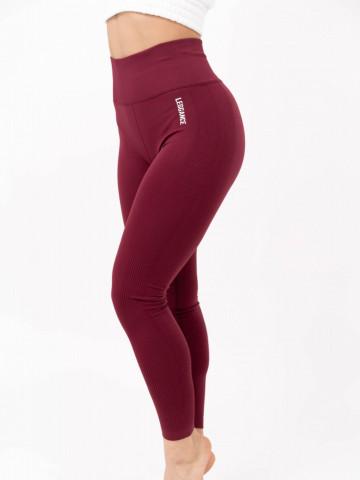 colanti fitness, leggance classic, burgundy