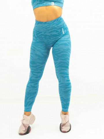 colanti fitness, camo blue