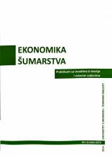 EKONOMIKA ŠUMARSTVA: praktikum/ Lj. Keča