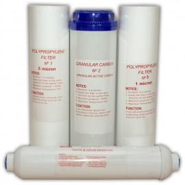 Set consumabile osmoza cu 5 etape de filtrare