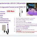 Lampa LED UV-C 3W portabila