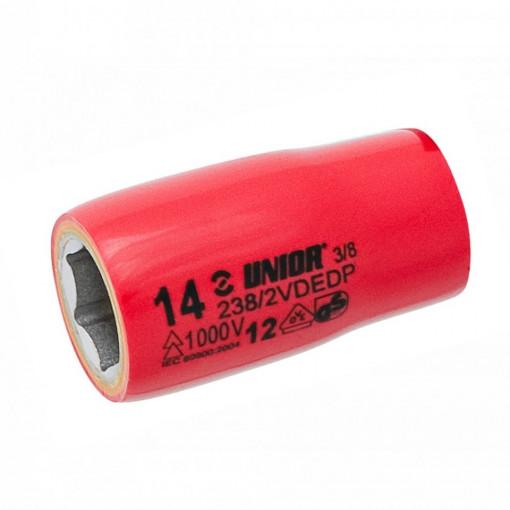 "Capete chei tubulare 3/8"" izolate la 1000 V - 238/2VDEDP - Unior"
