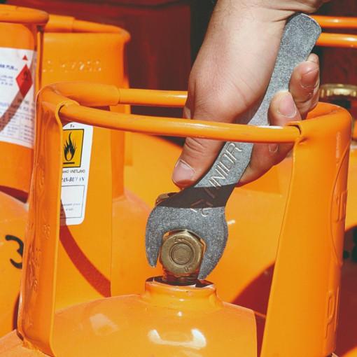 Cheie fixa simpla pentru gaz 135/2