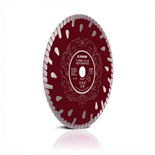Disc diamantat TURBO PLUS REFORZADO(LÁGRIMAS) - STAYER
