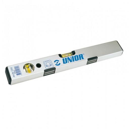 Nivele de aluminiu cu bula de aer si cu magnet - 1252 - Unior