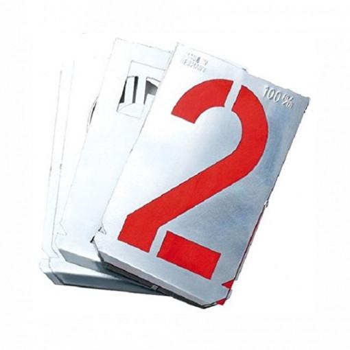 Set sabloane cifre 0-9 (10 piese) - 7000Z - GravuremHeidenpeter