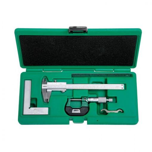 Trusa 4 instrumente de masura si control 5041 - Insize