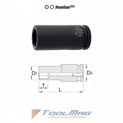 """Capete chei tubulare de IMPACT lungi 3/4"""" - 232/4L6p"""