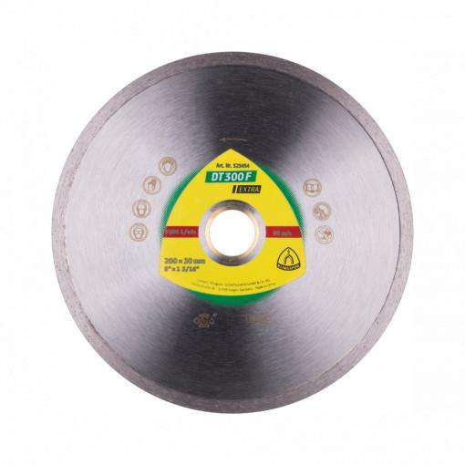Discuri diamantate mari pentru Plăci ceramice, Teracotă - DT 300 F EXTRA - KLINGSPOR