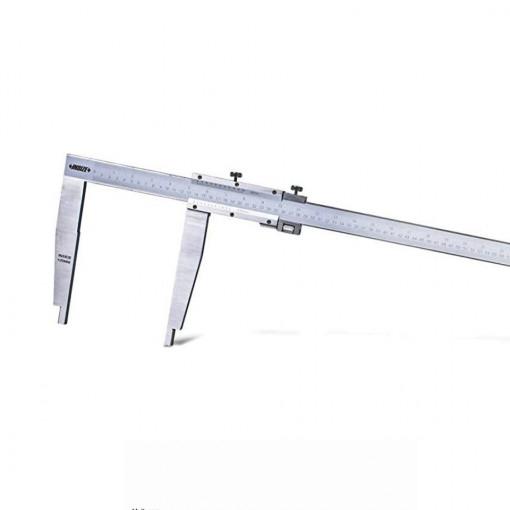 Subler mecanic de exterior-interior cu reglaj fin - 1208 - Insize