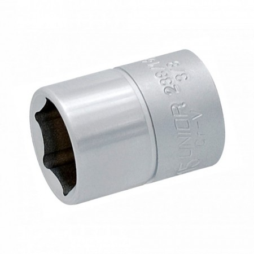 "Trusa capete chei tubulare 3/8"" in cutie metalica - 239A"