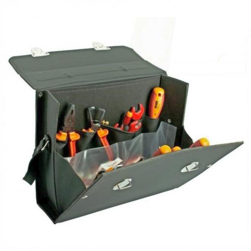 Trusa profesionala de scule pentru electricieni in geanta - 1000 ak7 - UNIOR