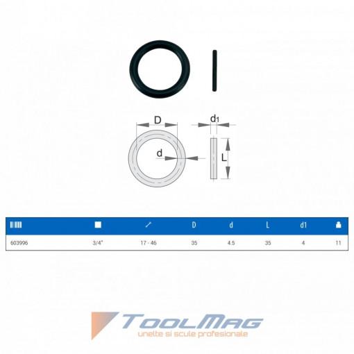 """Accesorii pentru capete chei tubulare de IMPACT 3/4"""" - 232.8/4 - Unior 2"""