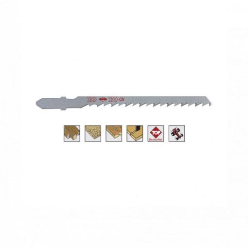 Set 5 panze pentru fierastrau pendular, dantura alternanta, HCS - 8072 - RUKO