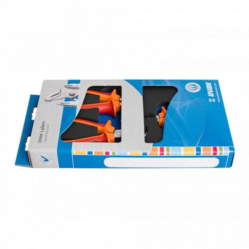 Set de clesti izolati la 1000 V în cutie de carton - 402C6 - Unior