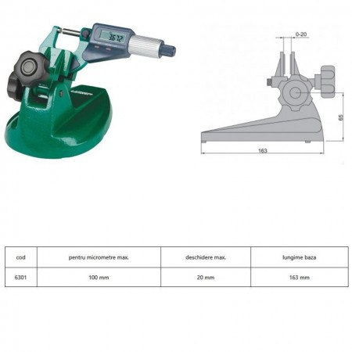 Stativ pentru micrometre 6301