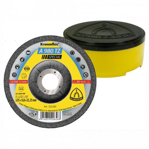 Discuri de debitare Klingspor pentru otel inoxidabil, otel, metale neferoase