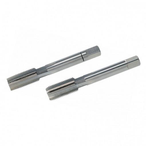 Set tarozi filet pentru tevi de gaz DIN ISO 228, DIN 5157 HSS-G, filet pe stanga - VOLKEL