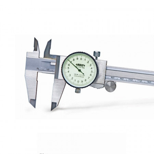 Subler mecanic cu ceas - 1312 - Insize