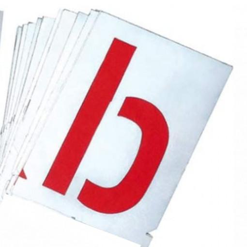 Set sabloane litere mici a-z (26 piese) - 7000A - GravuremHeidenpeter