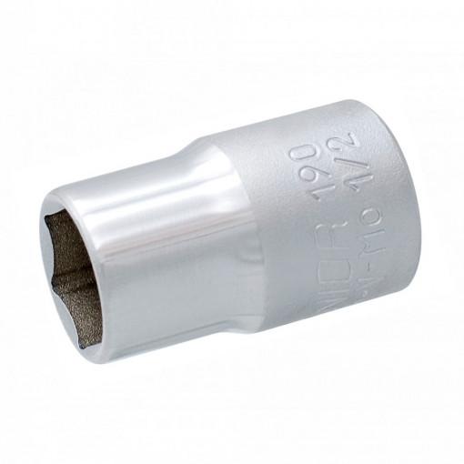 """Trusa capete chei tubulare 1/2"""" in cutie metalica - 190BI6P14"""