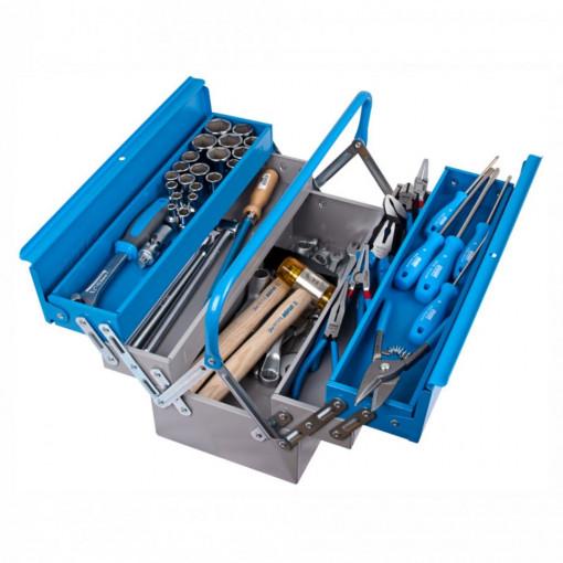 Trusa profesionala de scule pentru mecanici auto TSA in cutie metalica - 911/5 ak1 -UNIOR
