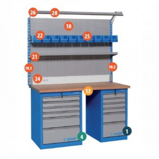 Banc de lucru modular - Modul 11 - 990MA11 - Unior detalii