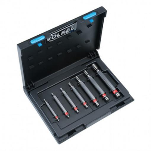 """Set de calibre pentru filete metrice DIN 13 / ISO 1502 """"TRECE-NU TRECE"""" - VOLKEL"""