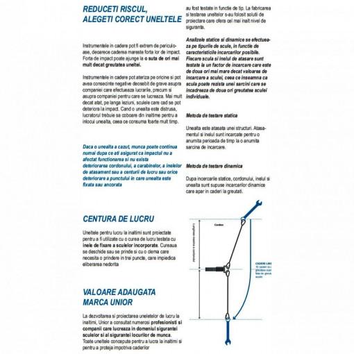 Cleste multifunctional pentru electricieni cu inel pentru carabiniera - 514/1BI-H