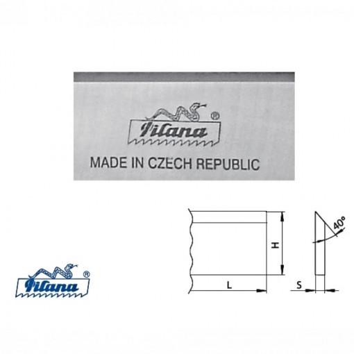 Cutite de rindeluit/abric DS-1.2067 latime 30 mm pentru lemn moale - 12067-30 - PILANA