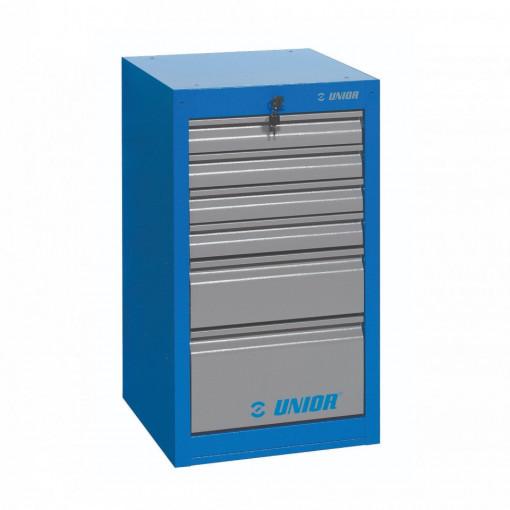 Dulap ingust pentru scule - 6 sertare - 990ND6 - UNIOR