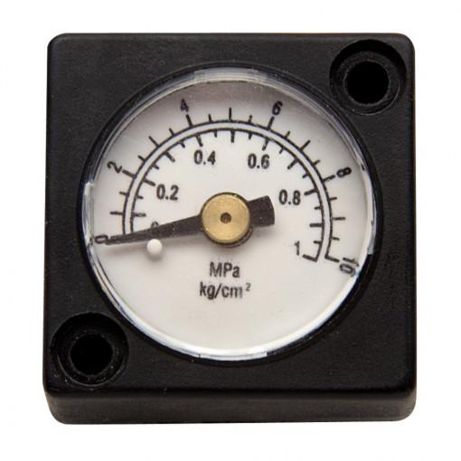 """Manometru de presiune pentru filtru regulator si ungator pneumatic 3/8"""" si 1/2"""" - 1501 si 1502 - Unior"""