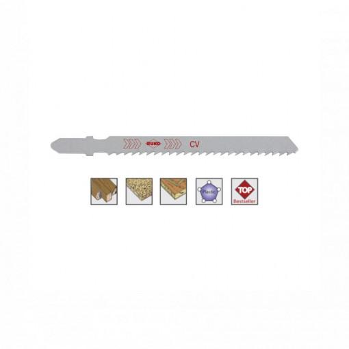 Set 5 panze pentru fierastrau pendular, dantura alternanta, HCS - 8070 - RUKO