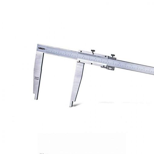 Subler mecanic cu varfuri lungi si reglaj fin - 1215 - Insize