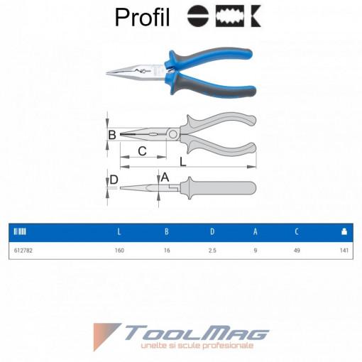 Cleste multifunctional pentru electricieni - 514/1BI - UNIOR