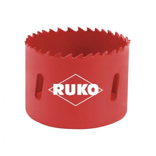 Clopot de gaurire (carota) HSS Bi-Metal cu dantura variabila - RUKO