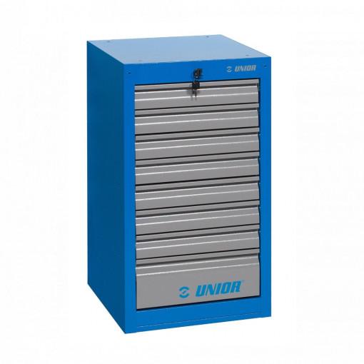 Dulap ingust pentru scule - 8 sertare - 990ND8 - Unior