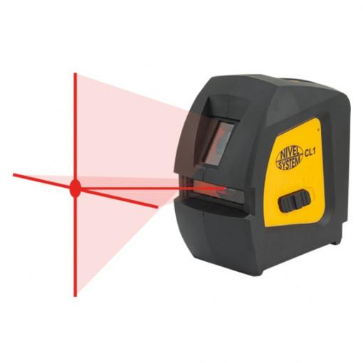 Laser in cruce cu raza rosie CL1 - Nivel System
