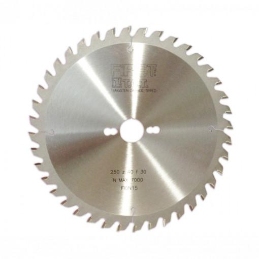 Panza circulara placata CMS pentru taierea transversala a lemnului - GAMMA I - FIRST