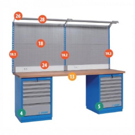 Banc de lucru modular - Modul 10 - 990MA10 - UNIOR detalii