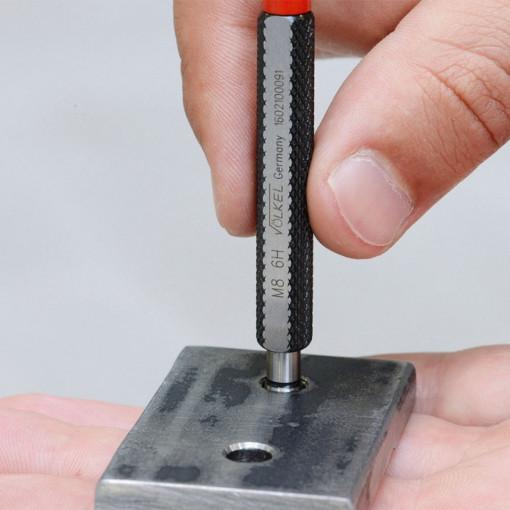 """Calibre - Set de calibre pentru filete metrice DIN 13 / ISO 1502 """"TRECE-NU TRECE"""""""