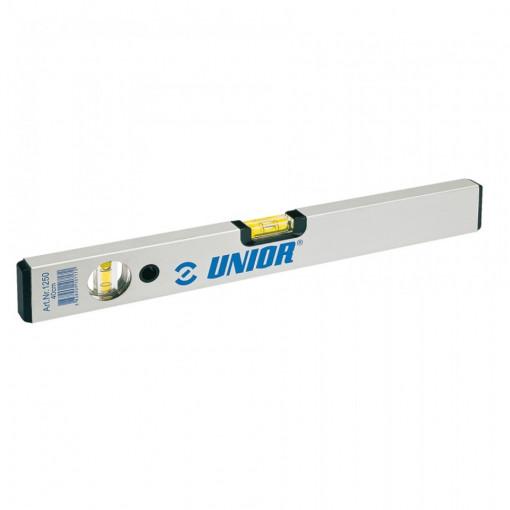 Nivela de aluminiu fara magnet - 1250 - Unior