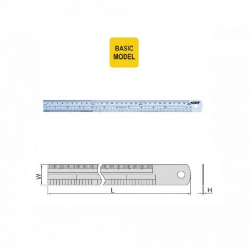 Rigla semiflexibila - 7110