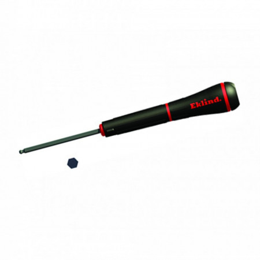 Surubelnite cu profil hexagonal varf sferic, cap rotativ - Ball-Hex inch PSD - EKLIND