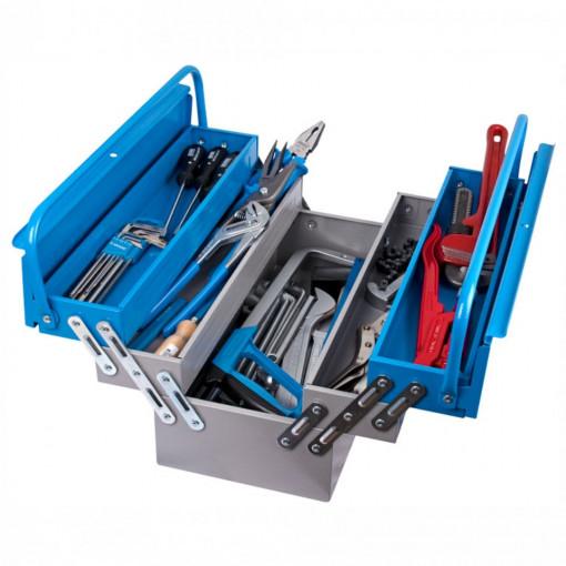 Trusa profesionala de scule pentru instalatori TSI in cutie metalica - 911/5 ak2-UNIOR