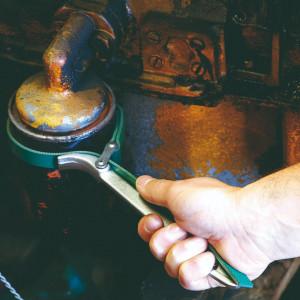 Cheie filtru de ulei cu banda din textura sintetica acoperita cu cauciuc - 205/2