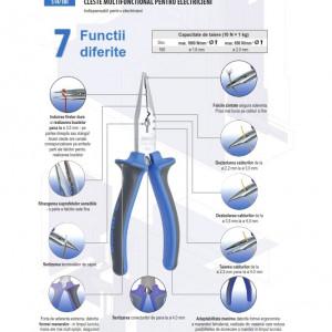 Cleste multifunctional pentru electricieni - 514/1BI