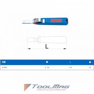 Dispozitiv de dezizolat cu cutit drept - 385G - UNIOR