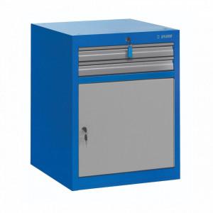 Dulap lat pentru scule - 2 sertare si usa - 990WDD2